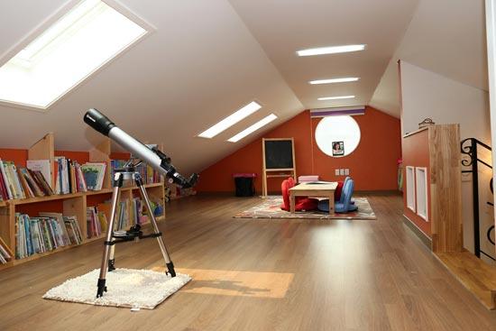 Neuer Wohnraum unterm Dach