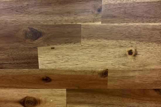 Laminat - Bodenbelag mit Holzmuster
