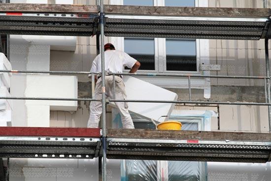 Fassadendämmung in Augsburg anbringen lassen